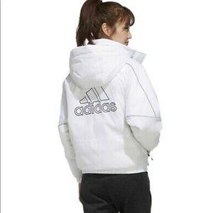 White Down Adidas Jacket